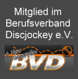 DJ Bernd ist Mitglied im BVD